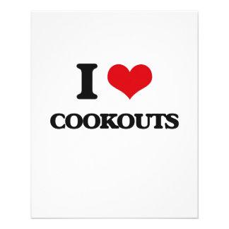 I love Cookouts Custom Flyer