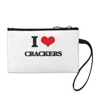 I Love Crackers Coin Wallet