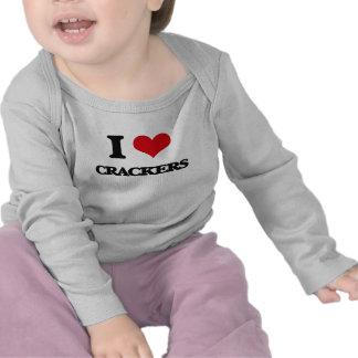 I Love Crackers Tee Shirt