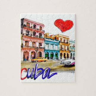 I love Cuba Jigsaw Puzzle
