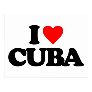 I LOVE CUBA POSTCARDS