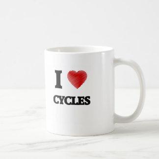 I love Cycles Basic White Mug