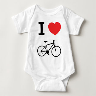 I love Cycling Baby Bodysuit