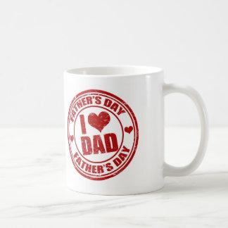 I love Dad Basic White Mug