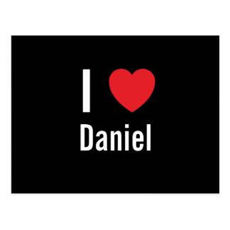 I love Daniel Postcard