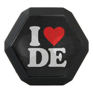 I LOVE DE BLACK BLUETOOTH SPEAKER