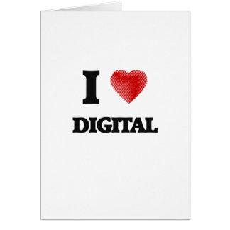 I love Digital Card