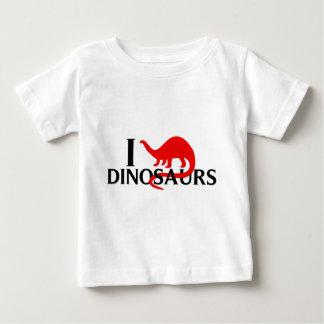 I Love Dinosaurs Baby T-Shirt