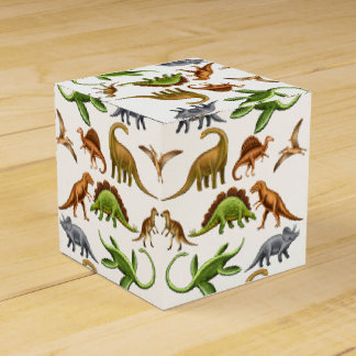 I Love Dinosaurs Paleo Favor Boxes