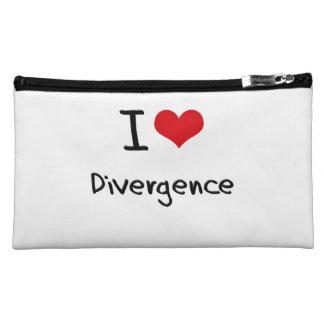 I Love Divergence Makeup Bags
