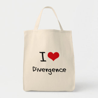 I Love Divergence Bags
