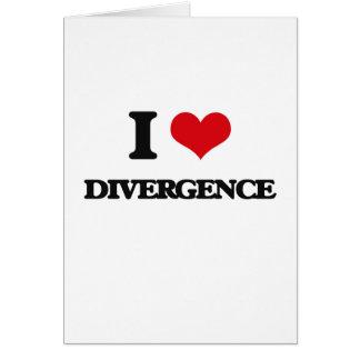 I love Divergence Cards