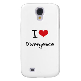 I Love Divergence Samsung Galaxy S4 Cases
