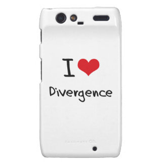 I Love Divergence Droid RAZR Cover