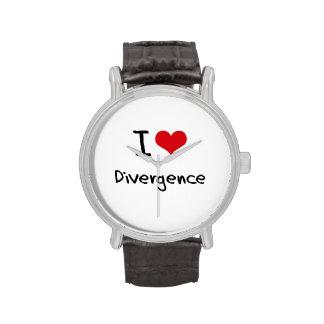 I Love Divergence Watch