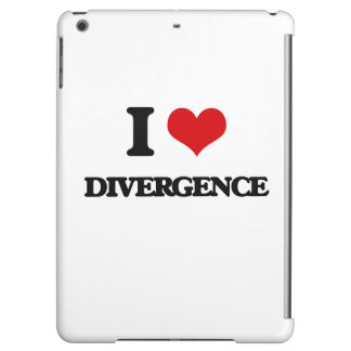 I love Divergence iPad Air Covers