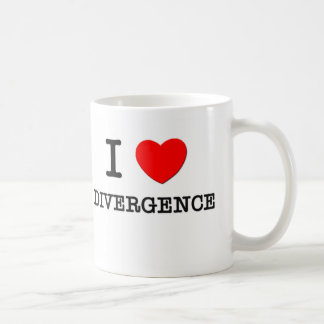 I Love Divergence Classic White Coffee Mug