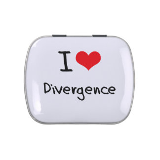 I Love Divergence Candy Tin