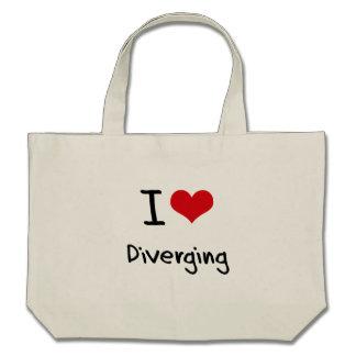 I Love Diverging Bag