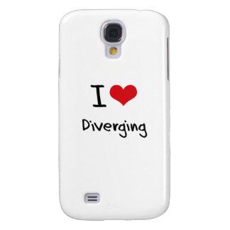 I Love Diverging Samsung Galaxy S4 Case