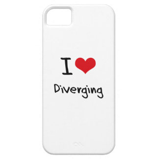 I Love Diverging iPhone 5 Cover