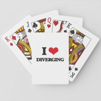 I love Diverging Card Deck