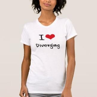 I Love Diverging Tshirt