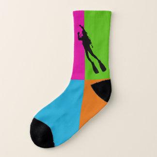 I love diving - socks 1