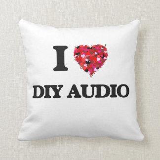 I Love Diy Audio Throw Cushions
