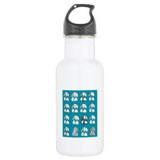 I love dogs 532 ml water bottle
