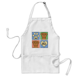 I Love Dogue de Bordeaux Standard Apron