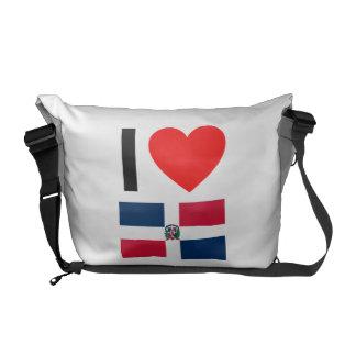 i love dominican republic commuter bag