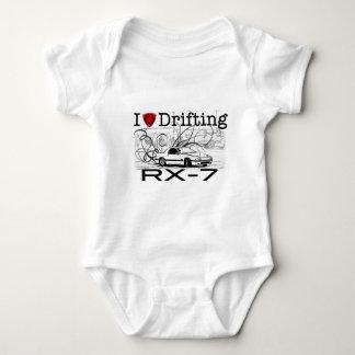 I love drifting RX-7 Baby Bodysuit