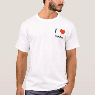 I love Dundee logo T shirt