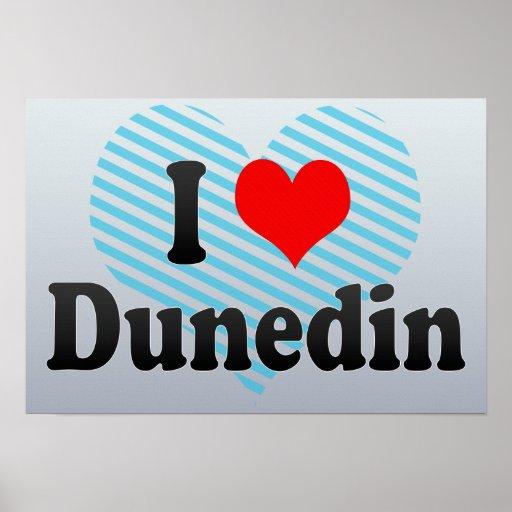 I Love Dunedin, New Zealand Poster