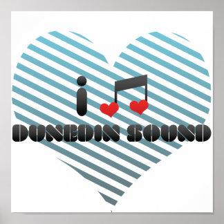 I Love Dunedin Sound Print