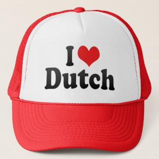 I Love Dutch Trucker Hat