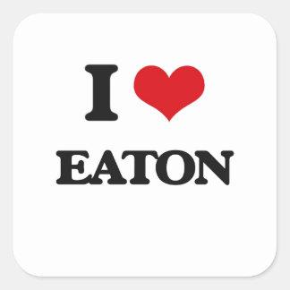 I Love Eaton Square Sticker
