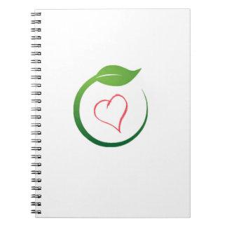 I Love Eco-Green Notebooks