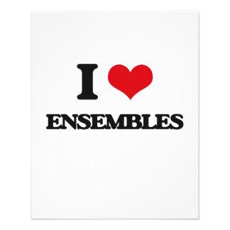 I love ENSEMBLES Flyer