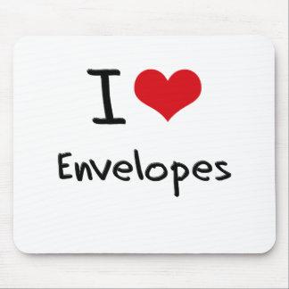 I love Envelopes Mousepads
