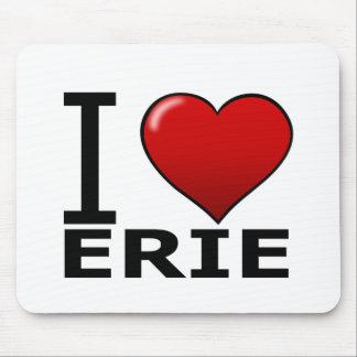 I LOVE ERIE,PA - PENNSYLVANIA MOUSE PAD