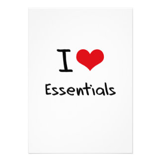 I love Essentials Custom Invitations