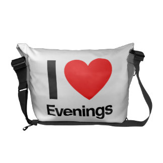 i love evenings courier bags