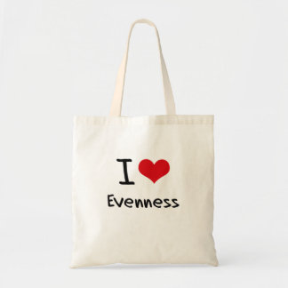 I love Evenness Canvas Bags
