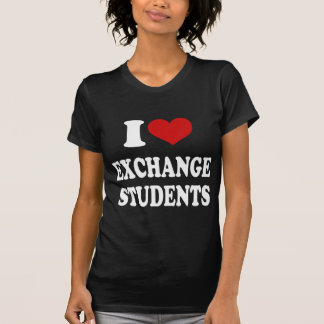 I Love Exchange Students T-Shirt