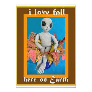 I Love Fall - Fall Festival Invitation