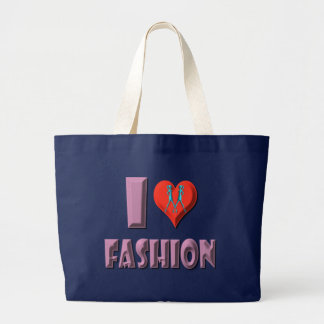 I Love Fashion Tote Bag