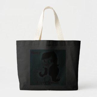 I love fashion-Ebony Tote Bag