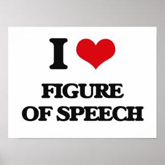 I love Figure Of Speech Poster